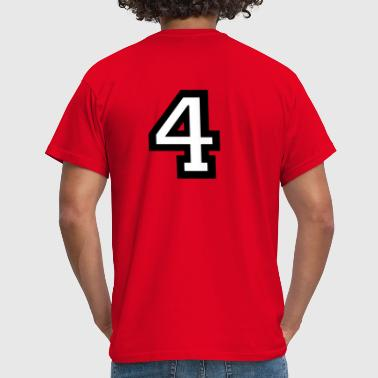 Number Four - Number 4 - Men's T-Shirt