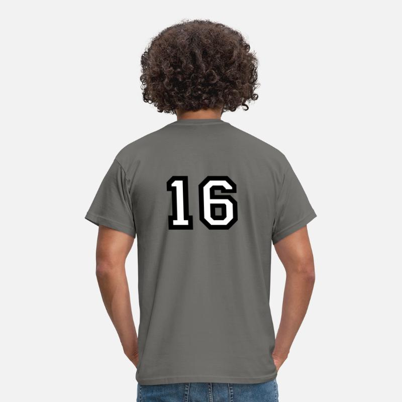 16 Numero Detras Camisa Con Mujer Ufxwp4C