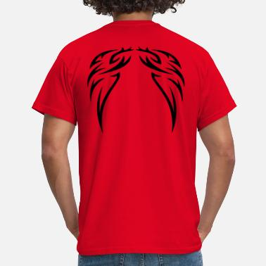 Pluma tattoo wings - Camiseta hombre