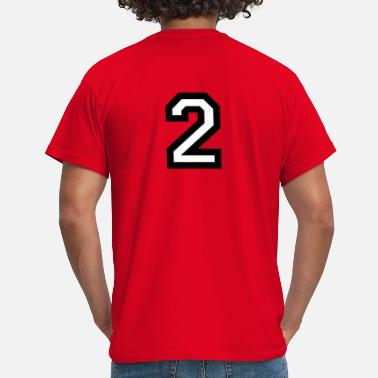 Number 2 The Number Two 2 - Men's T-Shirt
