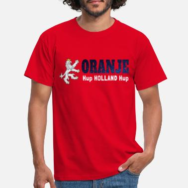 Football Oranje Hup Holland Hup - Mannen T-shirt