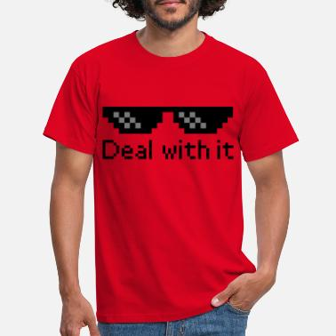 Meme Deal With It - Men's T-Shirt