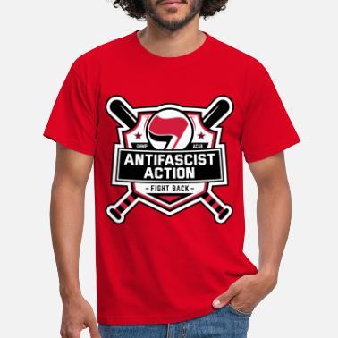 Antifascist ANTIFA - Antifascist Action (II) - Men's T-Shirt