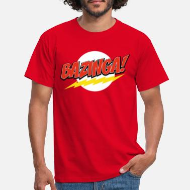 Bang The Big Bang Theory Bazinga herre slim fit T-shirt - T-shirt mænd