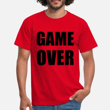 Game Over game over - T-shirt mænd