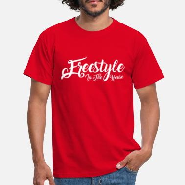 Lumilautailu freestyle04 - Mannen T-shirt