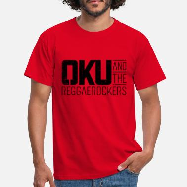 Band-logo Oku And The Reggaerockers - Logo schwarz - Männer T-Shirt