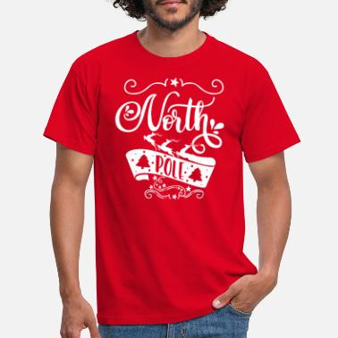 Northumberland North Pole white - Männer T-Shirt