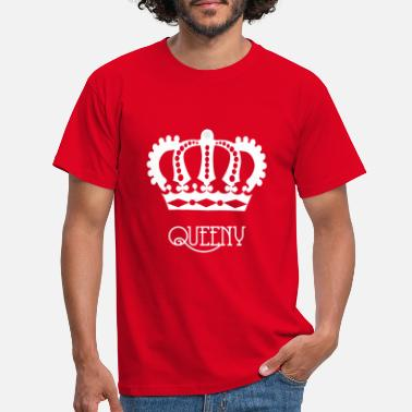 Sin Queeny white - Men's T-Shirt