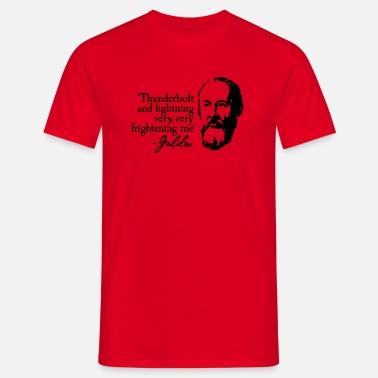 3a42fd87 Galileo - Thunderbolt and lightning very very... Men's Sport T-Shirt ...