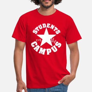 Passe Students on the Campus University Party white - Men's T-Shirt
