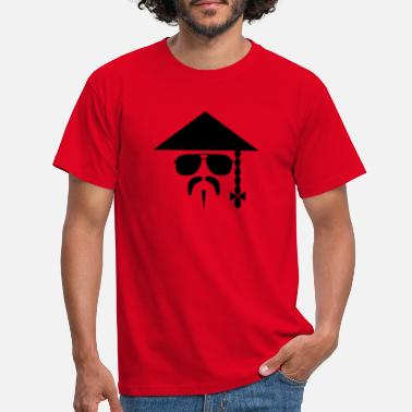 Chinese Chinese with Mustache - T-shirt Homme