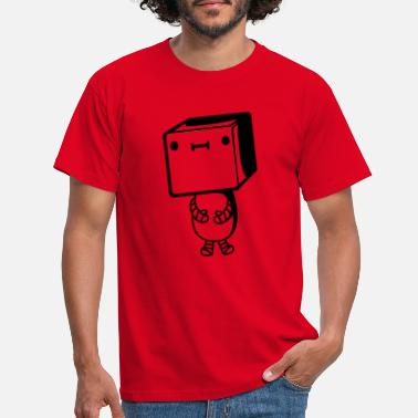 Intelligence Little cute robot - Men's T-Shirt