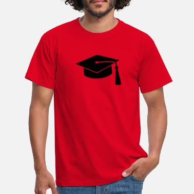 College graduation hat v2 - T-skjorte for menn