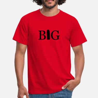 Cock big - Men's T-Shirt