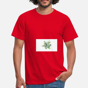 kisspng gum trees euclidean vector leaf flower wat - Men's T-Shirt