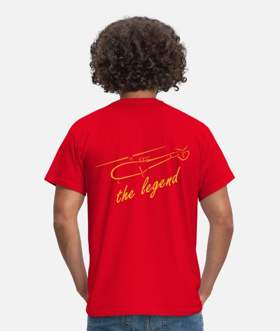 Help T-Shirts - logo - Men's T-Shirt red