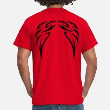 Ink tattoo wings - Men's T-Shirt