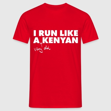 I Run Like A (Very Old) Kenyan - Maglietta da uomo