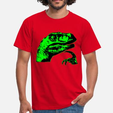Meme Philosoraptor - Men's T-Shirt