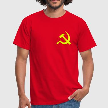hammer_and_sickle - Camiseta hombre