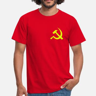 Cccp hammer_and_sickle - T-shirt herr