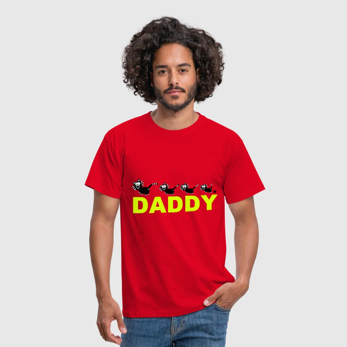 Daddy Vater Papa Dad Geschenk Familie Katzen Cat von catpaw ...