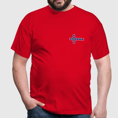 Norge flag - Herre-T-shirt