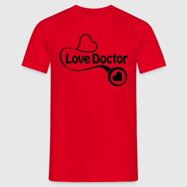 The love doctor - Men's T-Shirt