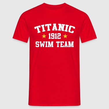 Titanic Swim Team 1912 - T-shirt herr