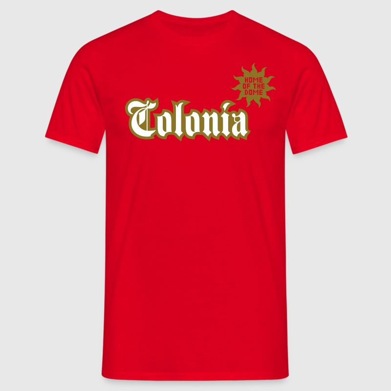 Colonia (Home of the dome) - Männer T-Shirt
