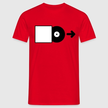 DJ - Vinyl - Save the Vinyl! - Mannen T-shirt