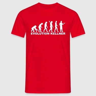 Evolution Kellner - Männer T-Shirt