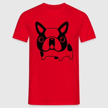 Caricature Bouledogue (m) - T-shirt Homme
