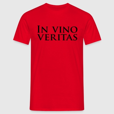 in vino veritas - T-shirt Homme