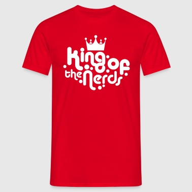 king of the nerds - Men's T-Shirt
