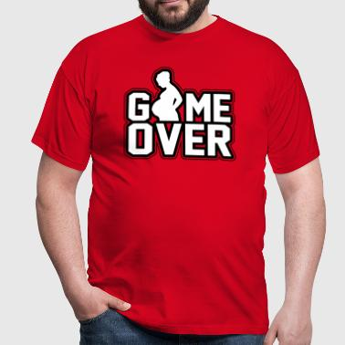 Pregnant - Game Over - Men's T-Shirt