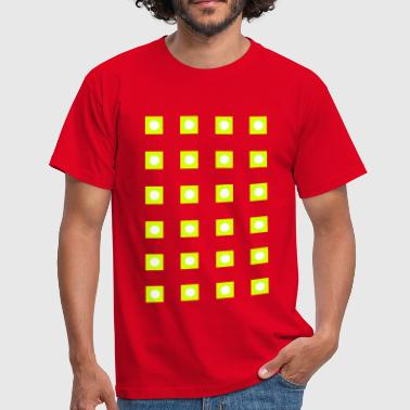 LED-lys_a1 - Herre-T-shirt