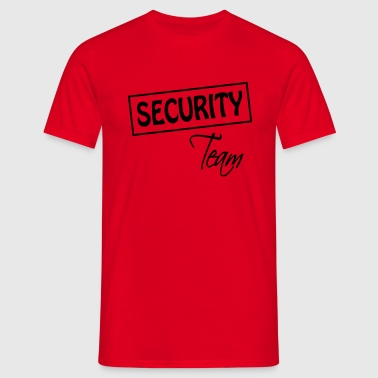 Security Team  - Camiseta hombre