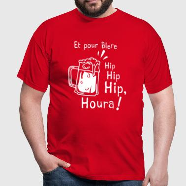 hip hip hip houra - T-shirt Homme