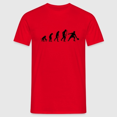 Evolution of Ping Pong/ table tennis - Men's T-Shirt