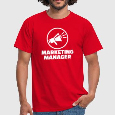 Marketing Manager - Männer T-Shirt