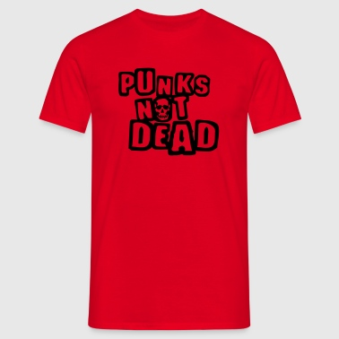 punks_not_dead Paraplu - Mannen T-shirt
