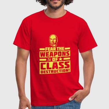 Class Destruction - T-shirt Homme