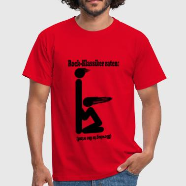 Blowing in the wind - schwarz - Männer T-Shirt