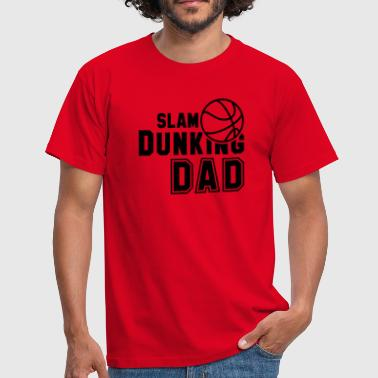 SLAM DUNKING DAD - T-shirt herr