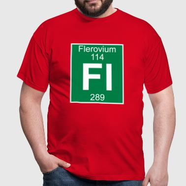 Flerovium (Fl) (element 114) - Men's T-Shirt