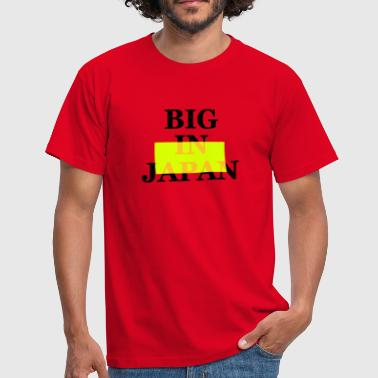 big on the net +  your blog etc - Männer T-Shirt