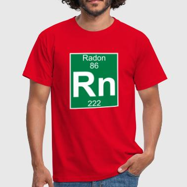 Elements 86 - rn (radon) - Full (white) - Männer T-Shirt