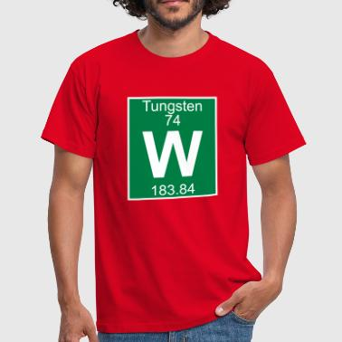 Tungsten (W) (element 74) - Men's T-Shirt